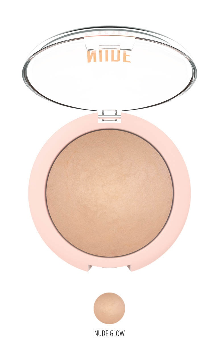 NUDE LOOK Sheer Baked Powder